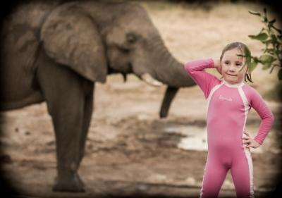 Leah & the Ellies, Elephant Sands, Botswana