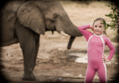 Leah & the Ellies, Elephant Sands, Botswana