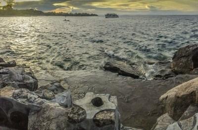 Chizimulu Island Rocks, Malawi