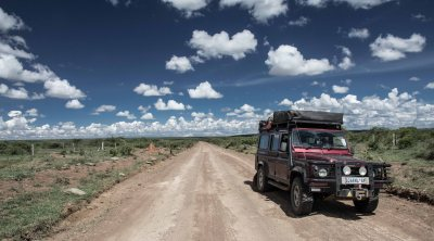 big sky country, Rumuruthi-Maralal road, Northern Kenya