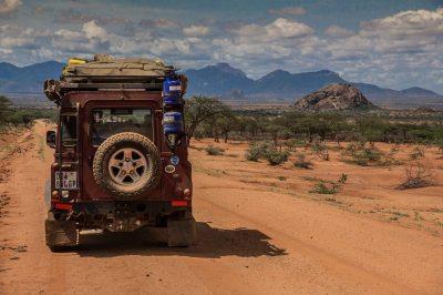 Maralal - Wamba Road, Northern Kenya