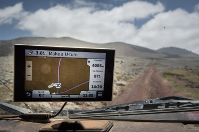 Breaking 4000m.. go back says the GPS!