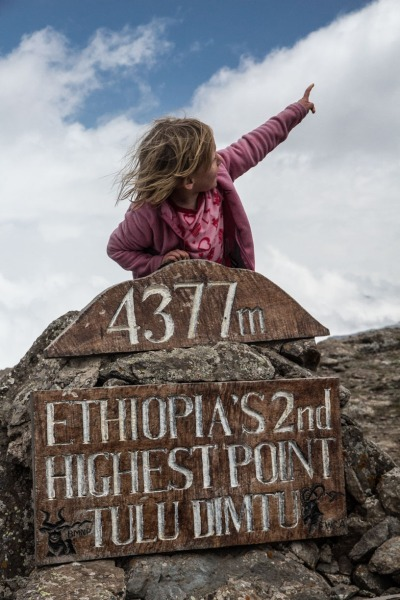 Highest 5year old in Africa (well. on Sunday anyway)