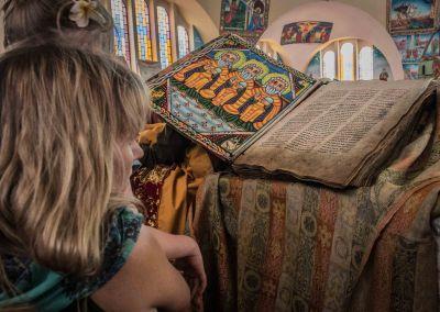 Colourful Ancient Ge'ez bible