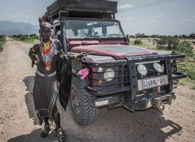 Ethiopian send-off on the Omorate road