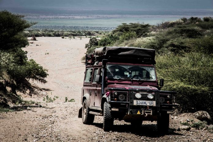 Not the easiest place to reach... the Turmi road is occasionally a riverbed