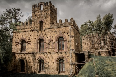 Queen Mentowab (Ethiopia's Cleopatra) built some of the best castles... and stables and dining castles...