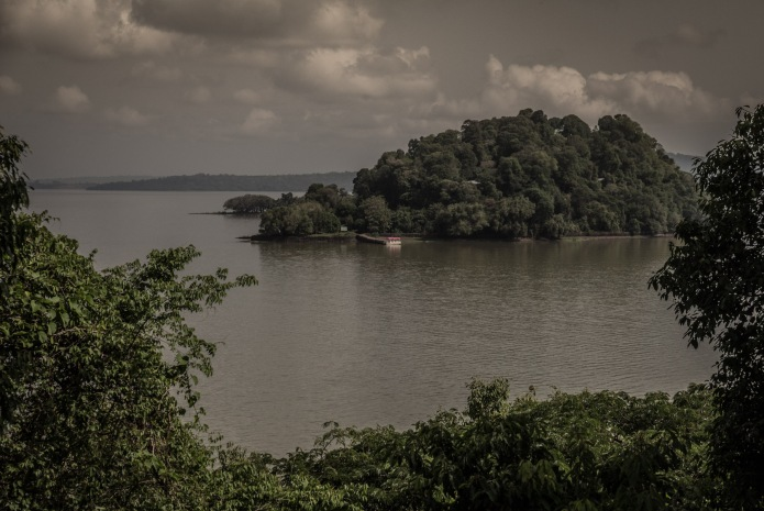 Islands close to Bahir Dar