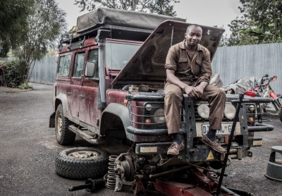 Ben! Landie mechanic who got our car through Ethiopia and patched her up again on the way back...