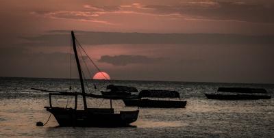 Obligatory Zanzibar Dhow sunset shot...