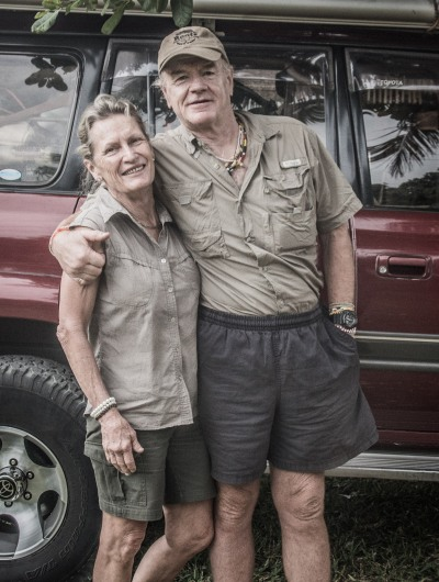 The Bakers...we had an amazing (and unexpected) drive through private hunting concessions oevr 3 nights in the Niassa reserve . Also great food (we were on pend-of-trip rations; they still had half of Woolworths in their freezer ....